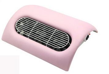 Műkörmös porelszívó 3 ventillátoros /  rózsaszí