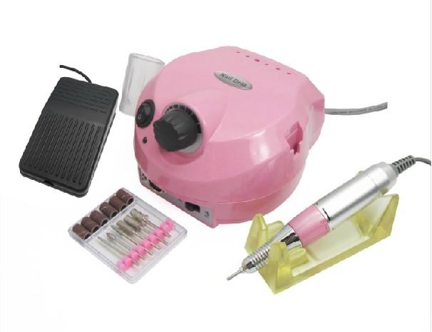 Műköröm csiszológép set DM-202,pink