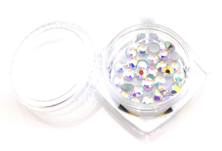 Strasszkő SS16-30db-027 Crystal AB