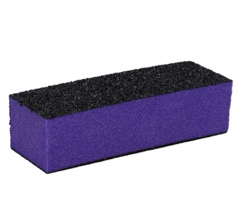 Buffer háromoldalú ,lila / fekete