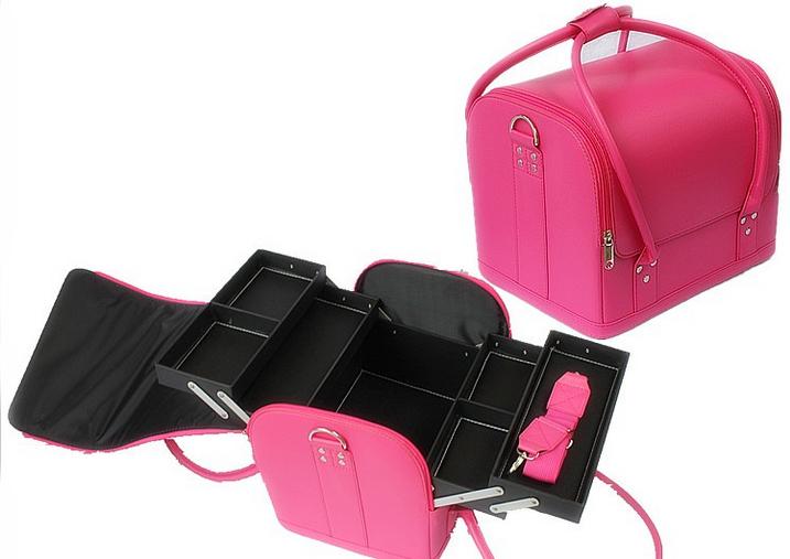 Kozmetikai táska 3-Rózsaszín