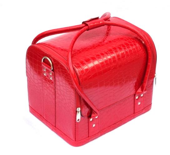 Kozmetikai táska 5-fényes Piros