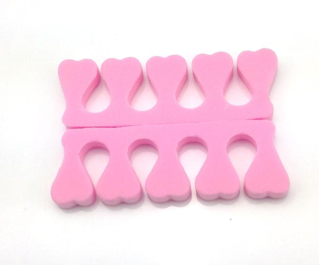 Lábújj szeparátor puha habszivacs,pink