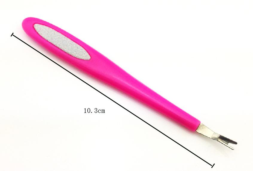 Kétágú körömágybőr vágó -pink