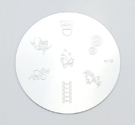 Bélyegzés sablon-M16