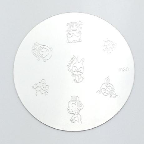 Bélyegzés sablon-M30