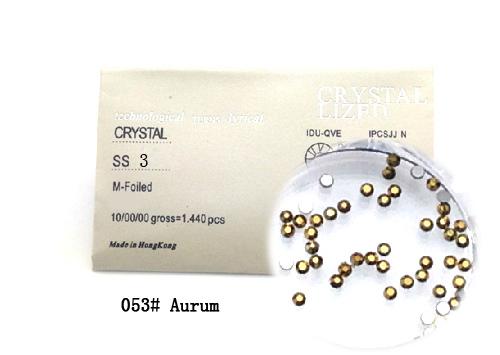 Strasszkő SS3-1440db-053 Aurum