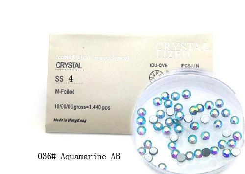 Strasszkő SS4-1440db-036 Aquamarine AB