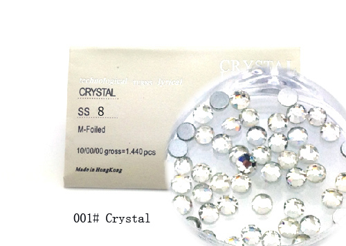 Strasszkő SS8-1440db-001 Crystal