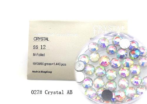 Strasszkő SS12-1440db-027 Crystal AB