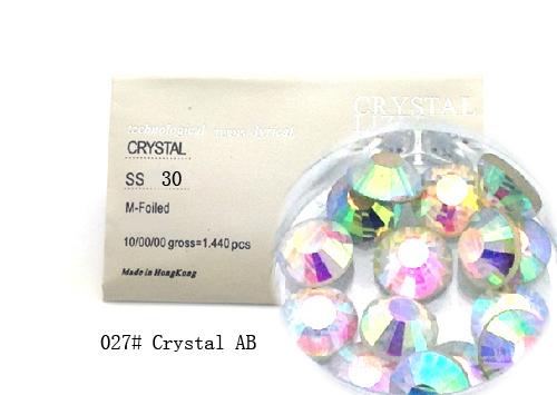 Strasszkő SS30-288db-027 Crystal AB