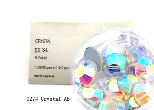Strasszkő SS34-288db-027 Crystal AB