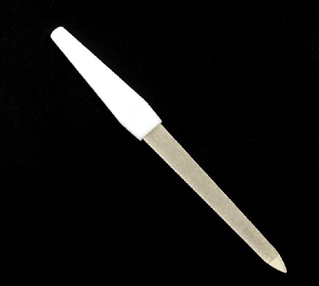 Gyémántporos körömreszelő -Fehér 155mm