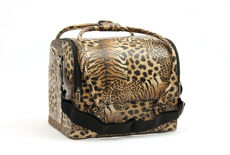 Kozmetikai táska  -Leopard