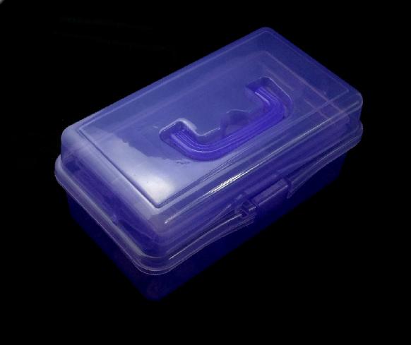 Műanyag doboz-Lila