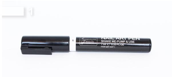 Festék toll Fehér 001