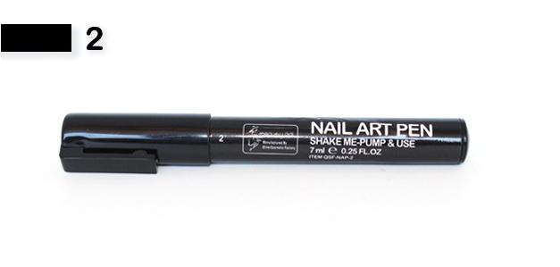 Festék toll Fekete 002