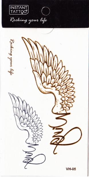 Metál tetoválás matrica 6.5cmX11cm  VH05