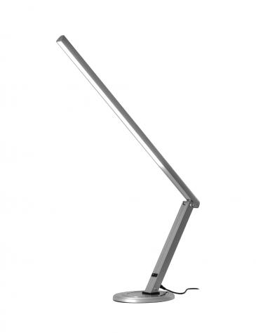 12W LED Asztali lámpa Talpas,OTL-050, Ezüst