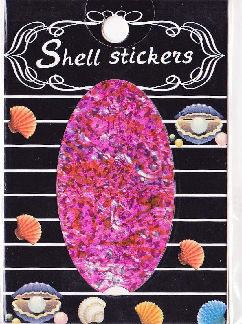 kagyló hatasú matrica,öntapadós,z-d920