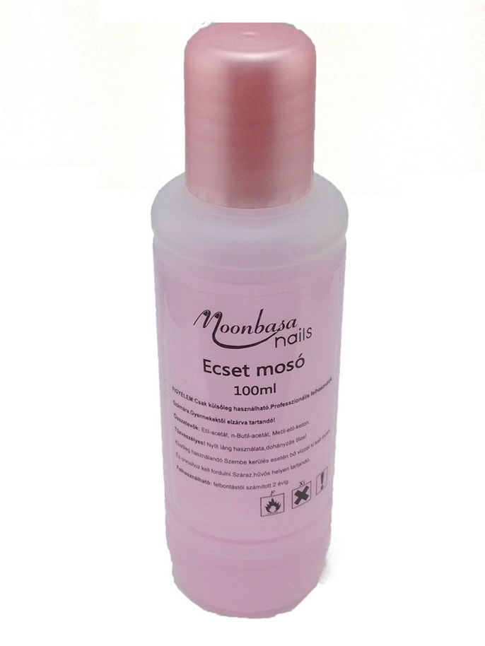 (moonbasanails)Ecset mosó 100ml