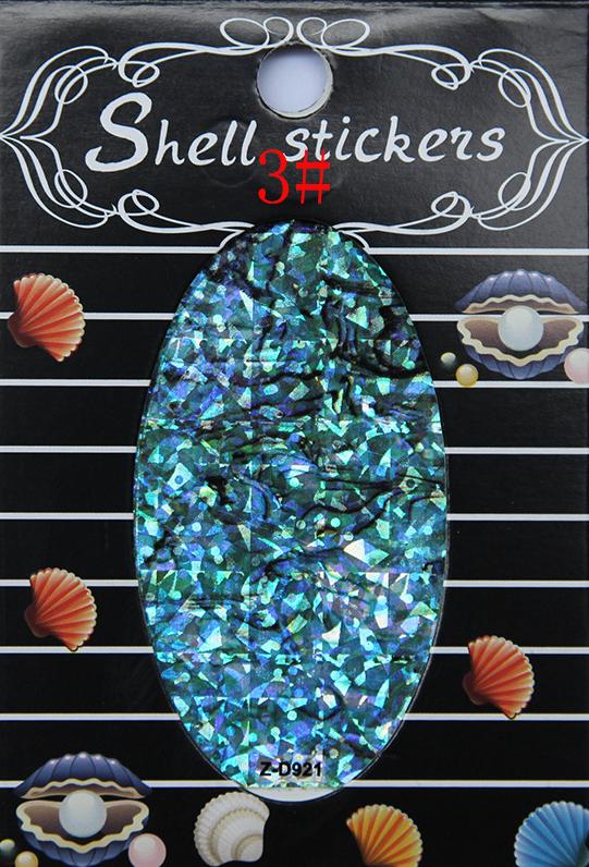 kagyló hatasú matrica,öntapadós, z-d921