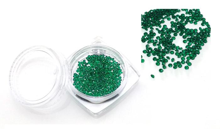 ss3 pixie strasszö  300db-os,Emerald