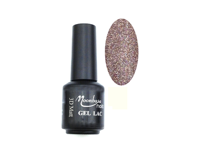 Moonbasanails 3D Matt lakkzselé 5ml 701#