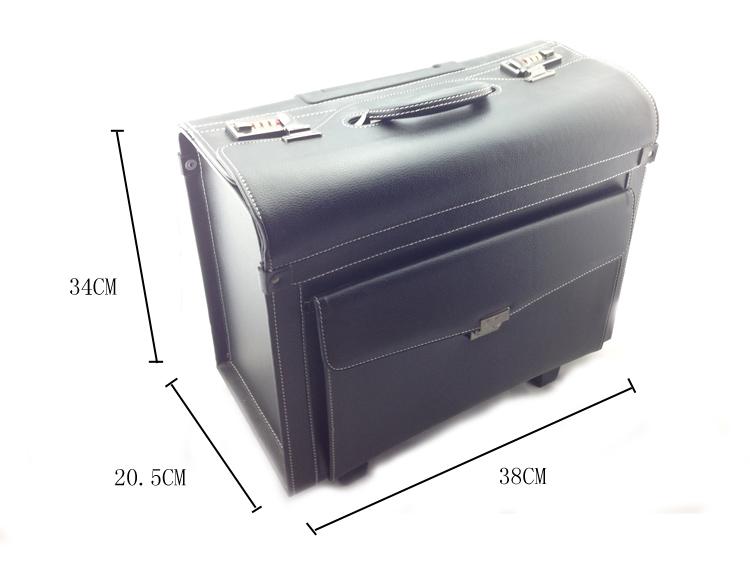 Kozmetikai bőrönd/Műkörmös táska-Fekete(3B)