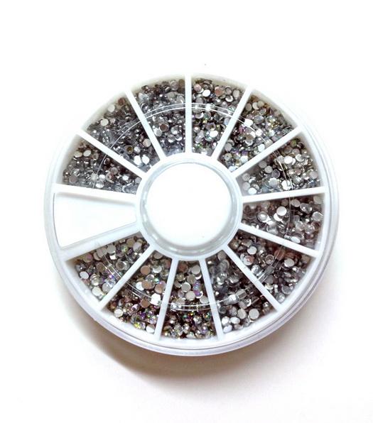 1.5mm,2.0mm ezüst kövek szett,1200-1500db