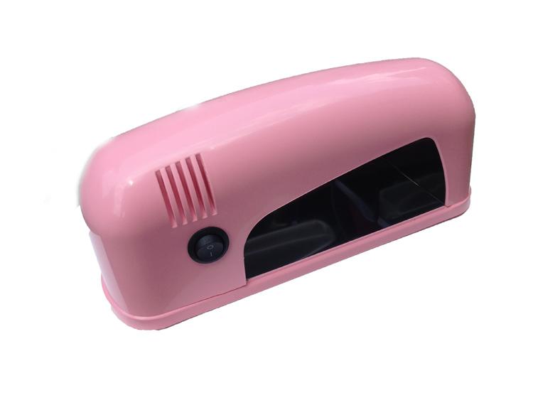 UV lámpa 1x9W  Light Pink