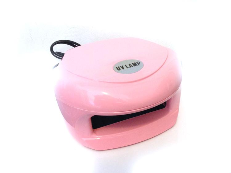 UV lámpa 2x9W -Light Pink