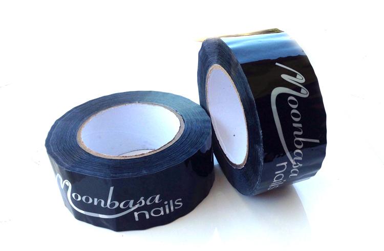 Moonbasanails Fekete Ragasztó szalag,széles5cm