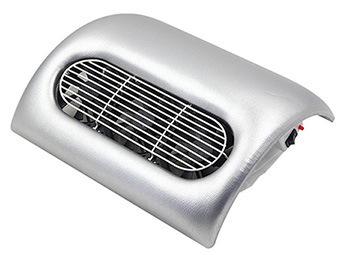 Műkörmös porelszívó,3 ventillátoros / Ezüst