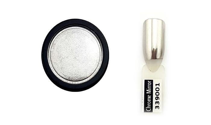 Chrome Mirror pigmentpor-prémium ezüst
