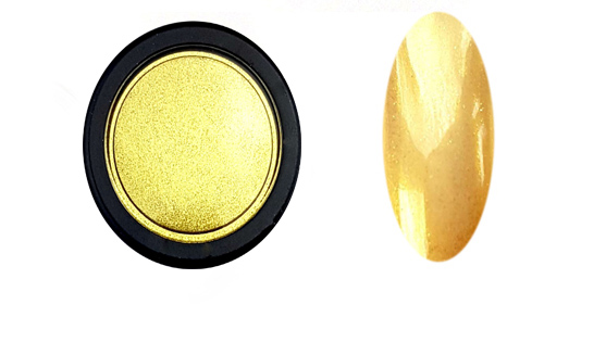 Chrome Mirror pigment por,arany