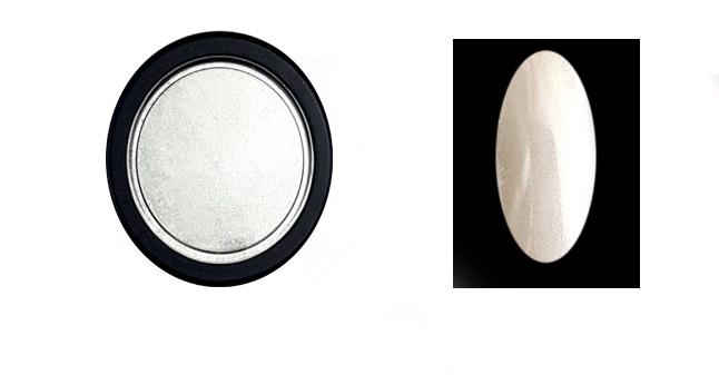 Chrome Mirror(extra finom szemcsék) pigment por,fehér