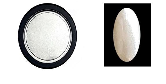 Chrome Mirror pigment por,fehér