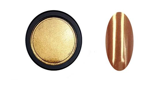 Chrome Mirror pigmentpor-arany