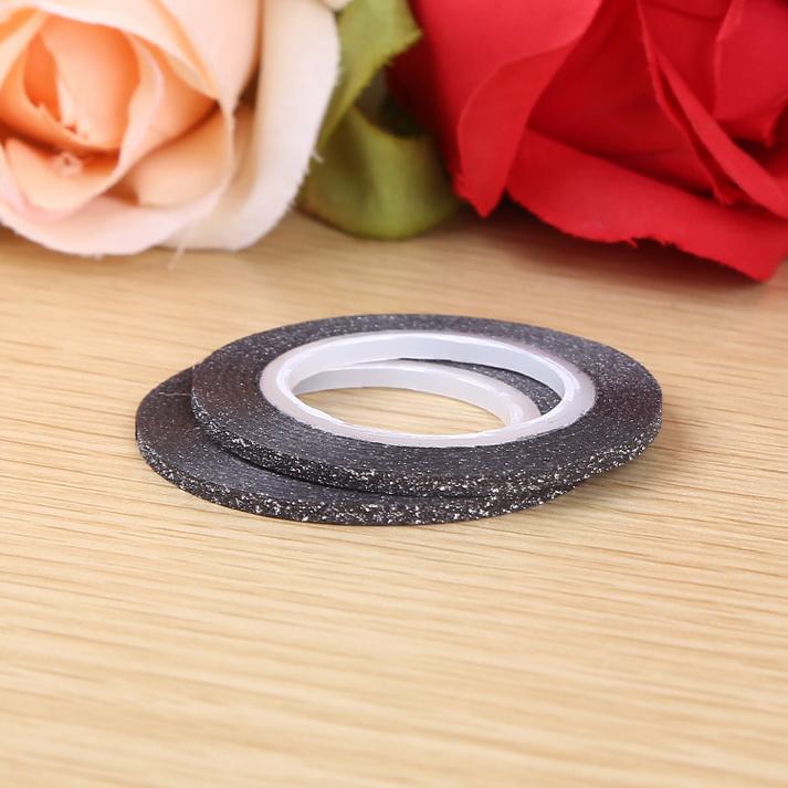 3D matt Műköröm díszítő csík ,fekete,2mm