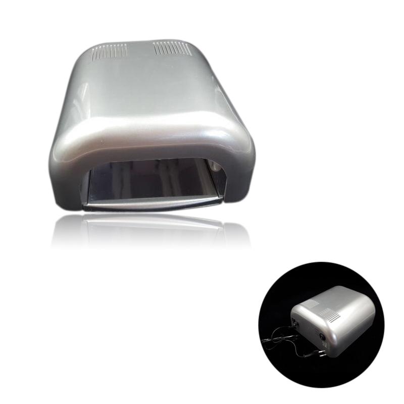 UV lámpa 4x9W TR-092-ezüst