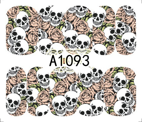 Halloween Akril Hatású Matrica,vizes A1093