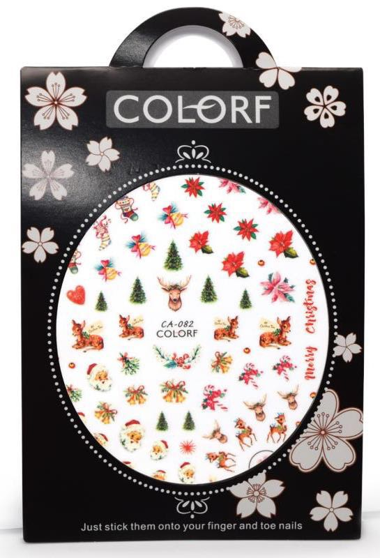 Christmas Nail sticker ,self-adhesive