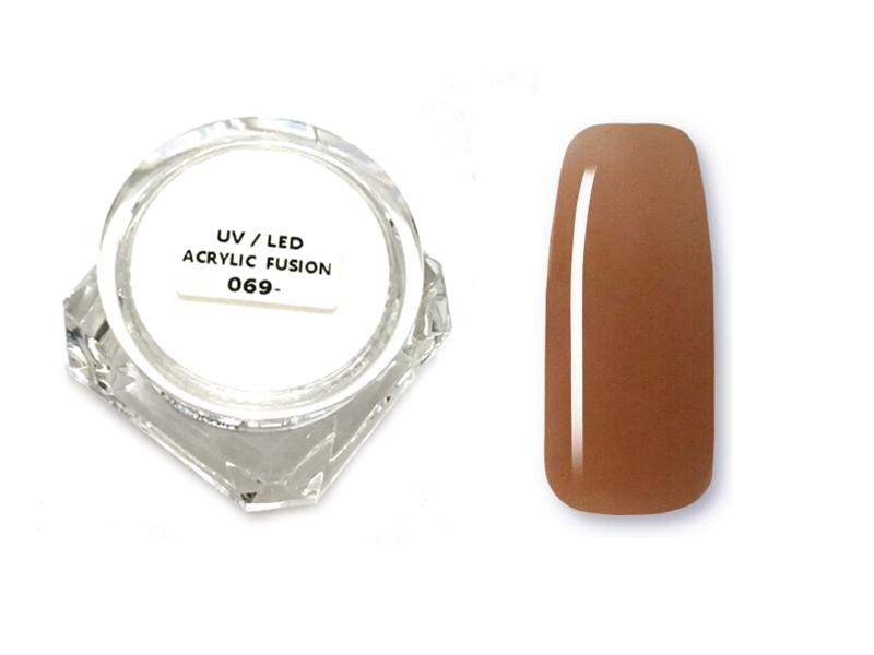 ACRYLIC GEL 5ml,30ml (Acrylic Fusion ) 12# Csoki barna