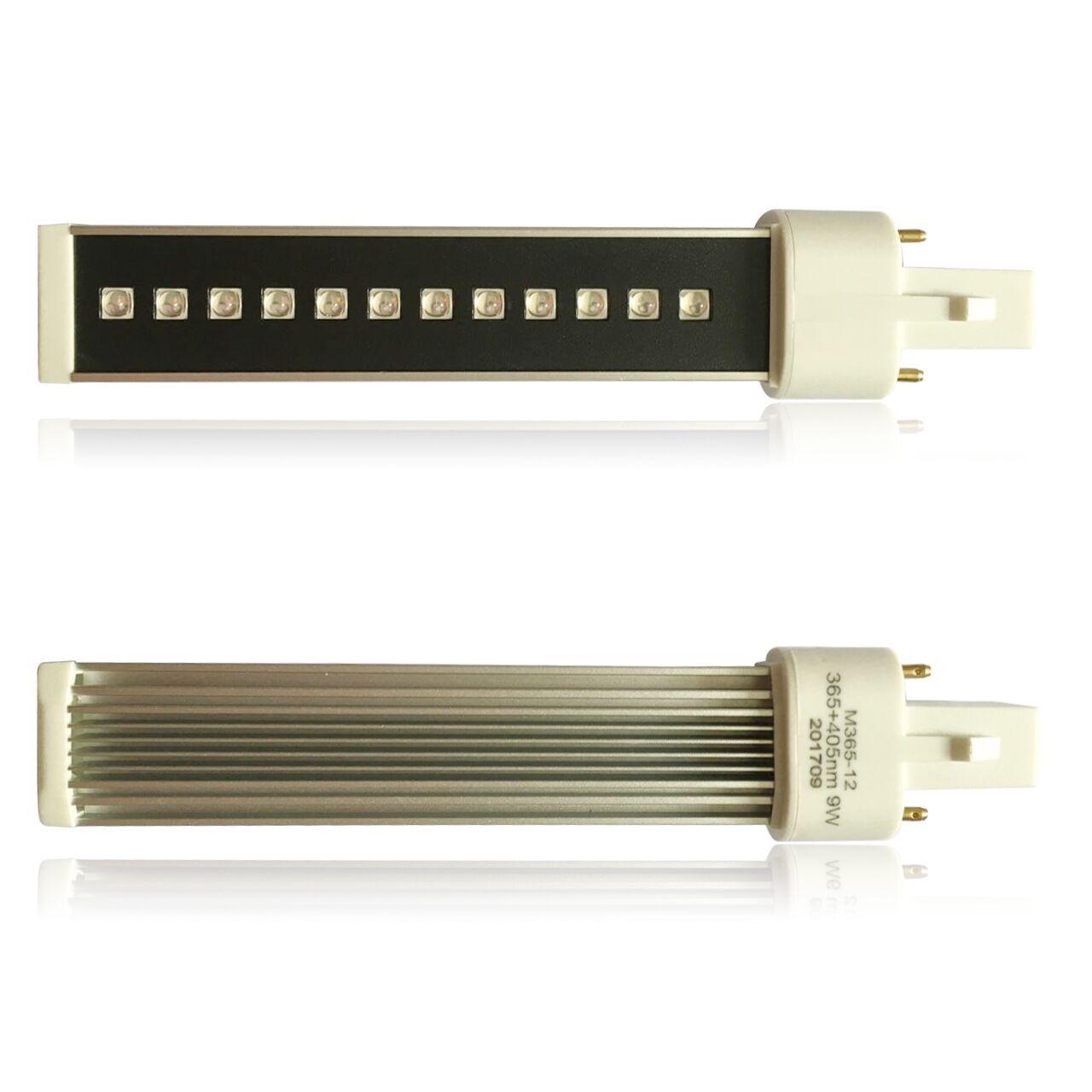 UvLed cső, trafós - 16.5cmH-9W-L