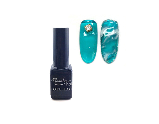 Moonbasanails Amber Glass Lakkzselé 5ml-466#
