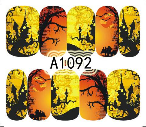 Halloween Akril Hatású Matrica,vizes,A1092