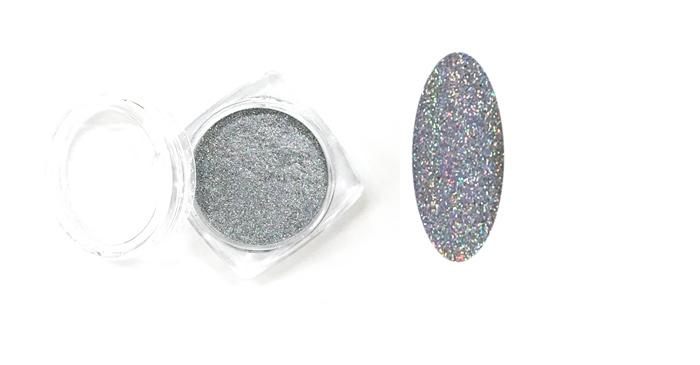 Sellőpor 15#,fényes ezüst,super finom 1/700
