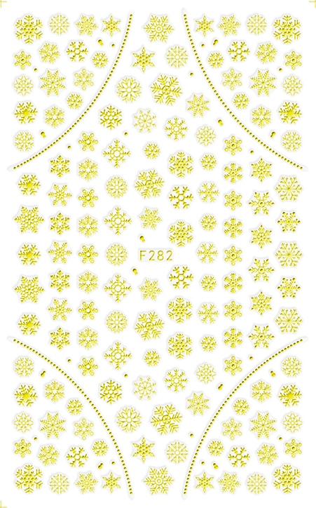 Karácsony Köröm  matrica ,öntapadós,F282-G