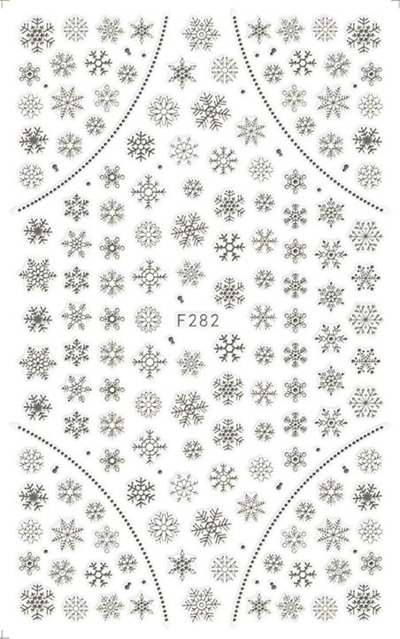 Karácsony Köröm  matrica ,öntapadós,F282-E